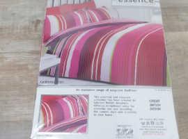 Brand new single duvet cover and pillowcase