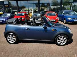 Mini MINI, 2009 (59) Blue Convertible, Manual Petrol, 64,972 miles