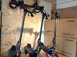 IN-STOCK  SELLING OUT FAST Brand new T10 DDM electric scooter. 52V, 18Ah, 2000w. 2 motors. Same as Zero 10X scooter