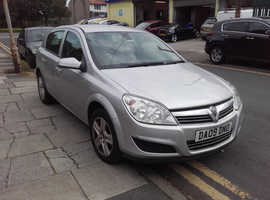 Vauxhall Astra, 2009 (09) Silver Hatchback, Manual Petrol, 153,968 miles