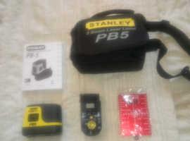 Brand New Stanley 1-77-119 Fatmax 5-Spot Laser Plumb Bob PB5