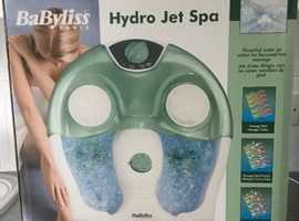 Babyliss foot Hydro Jet Spa - Brand new and boxed