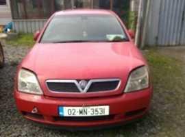 Vectra 2002 - 2006 1.6 petrol; 20 diesel + Alloys. Breaking