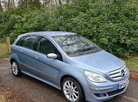 Mercedes B-CLASS, 2006 (06) blue mpv, Manual Diesel, 96,000 miles