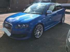 Audi S3, 2007 (07) Blue Sports, Manual Petrol, 98,000 miles