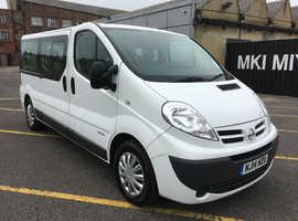 Nissan PRIMASTAR, 2014 (14) White MPV, Manual Diesel, 152,000 miles**no vat