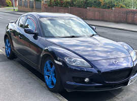 Mazda RX-8, 2008 (08) Blue Coupe, Manual Petrol, 78,600 miles