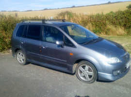 Mazda Premacy, 2004 (54) Grey Hatchback, Manual Petrol, 111,786 miles