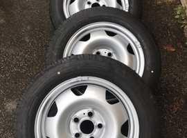 Vw transporter t5/t6 wheels