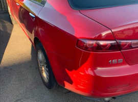 Alfa Romeo 159, 2008 (08) Red Saloon, Manual Diesel, 216,000 miles