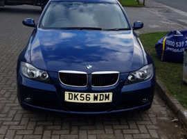 BMW 3 Series, 2006 (56) Blue Saloon, Automatic Diesel, 98,000 miles