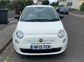 Fiat 500, 2013 (13) White Hatchback, Manual Petrol, 26,778 miles