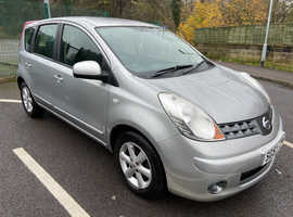 2007 NISSAN NOTE 1.4 ACENTA 5 DOOR MPV, HPI CLEAR