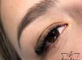 Eyelash extensions London JL lashes
