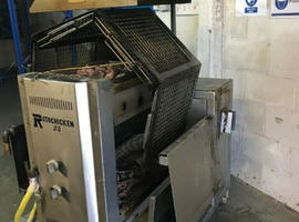 Automatic Commercial Charcoal Grill Chicken Rotisserie