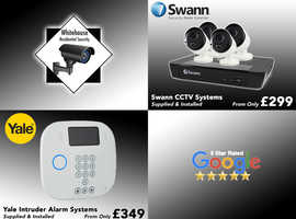 Top Quality Swann CCTV Systems  Including Full Professional Installation (5 Star Rated)