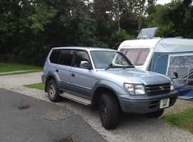 Toyota Landcruiser, 1997 (P) Silver 4x4, Automatic Diesel, 262,000 km