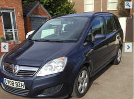 *AUTOMATIC* 08 Vauxhall Zafira,, Automatic Diesel, 72,000 miles*New Mot*7 Seats* £2650!