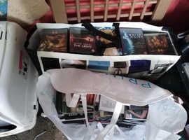 2 big bags full of dvds