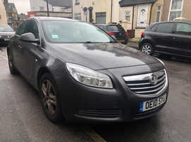Vauxhall Insignia, 2010 (10) Grey Saloon, Automatic Diesel, 130,000 miles