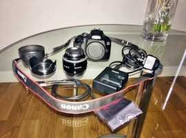 DSLR Canon 4000d For Sale with or without 50mm lens and ESDDI Flash