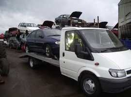 Scrap cars wanted / MOT failures / Damaged Etc Good Prices Paid