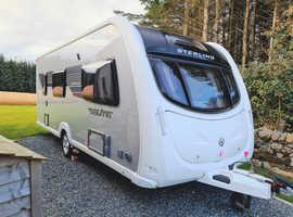 Sterling Emerald Elite 4 berth caravan