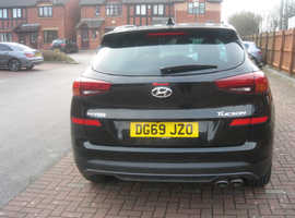 Hyundai Tucson, 2019 (69) black estate, Manual Petrol, 3,391 miles