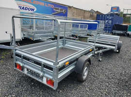 BRAND NEW TRAILER- BOX TRAILER- CAMPING TRAILER with cover 100cm 6x4 MARTZ / TEMARED in Fife