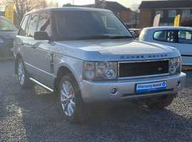 Land Rover Range Rover, 2004 (54) Silver Estate, Automatic Diesel, 125,000 miles