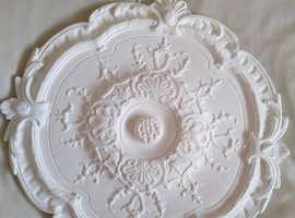 Artex Traditional Plaster Ceiling rose, (Dia)360mm
