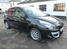 Renault Scenic, 2010 (10) Black MPV, Cvt Petrol, 55,000 miles