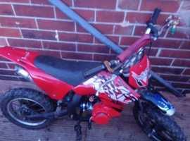 50cc minimoto dirt bike