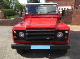 Land Rover DEFENDER 90, 2004 (04) Red 4x4, Manual Diesel, 81,000 miles. 3 door.