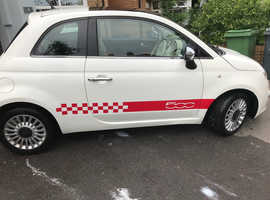 Fiat 500, 2008 (58) White Hatchback, Manual Petrol, 109,000 miles