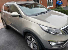 Kia Sportage, 2010 (60) Silver Estate, Manual Diesel, 86,660 miles