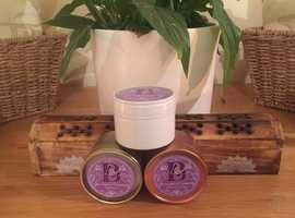 Scented Candles, Various Scents Quality Handcrafted 100% Natural Soy Wax