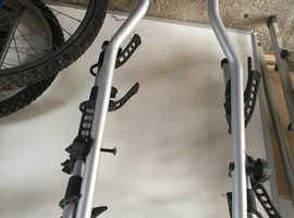 Roof rack for bikes