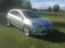 Ford Focus, 2014 (64) Silver Hatchback, Manual Petrol, 57,000 miles