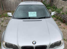 BMW 3 Series, 2002 (02) Silver Coupe, Manual Petrol, 159,699 miles