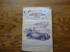 ALBUM OF MOTOR CARS SERIES 2;  COMPLETE 50 CARDS