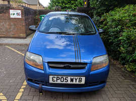 Chevrolet Kalos, 2005 (05) Blue Hatchback, Manual Petrol, 121,000 miles
