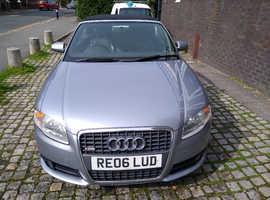 Audi A4, 2006 (06) Silver Convertible, Cvt Petrol, 112,946 miles