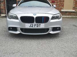 BMW 5 Series, 2011 (11) Silver Saloon, Manual Diesel, 166,755 miles