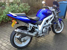 Very good condition SV650