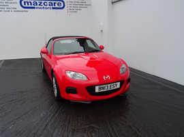 Mazda MX-5, 2013 (13) Red Convertible, Manual Petrol, 27,800 miles