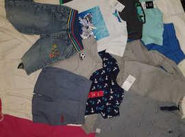 Bundles of clothes