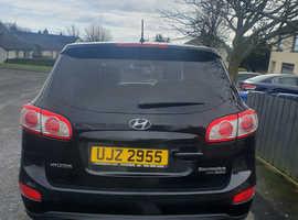 Hyundai Santa Fe, 2010 (10) Black Estate, Automatic Diesel, 172,464 miles