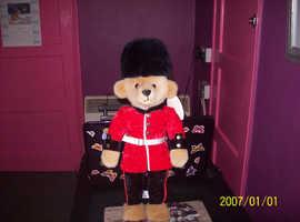 merrythought queens guard teddybear