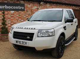 Land Rover Freelander, 2010 (10) White Estate, Manual Diesel, 69,000 miles